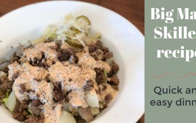 Big Mac recipe – in a skillet!