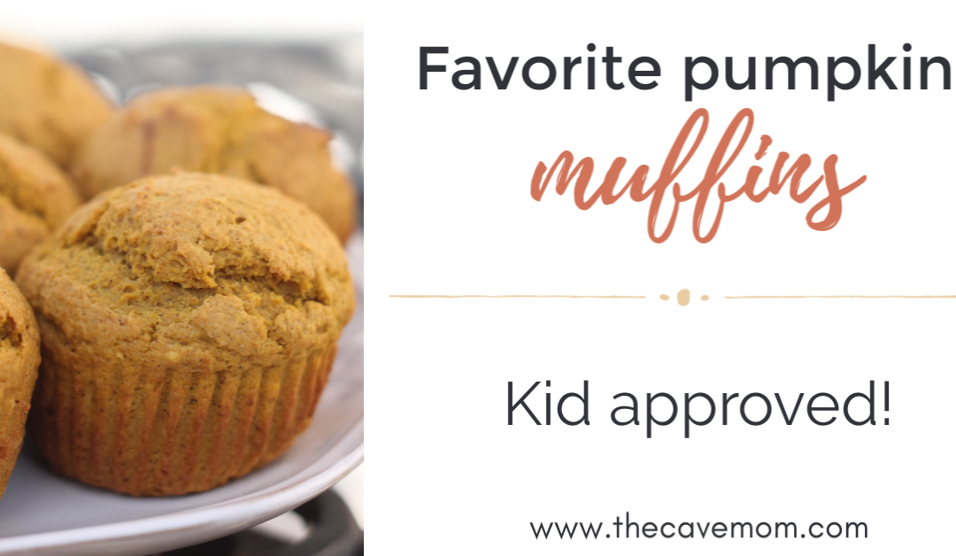 Favorite Pumpkin Muffins (GF and DF options!)