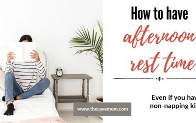 How to have afternoon rest time